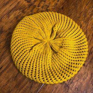 Mustard Slouch Hat.